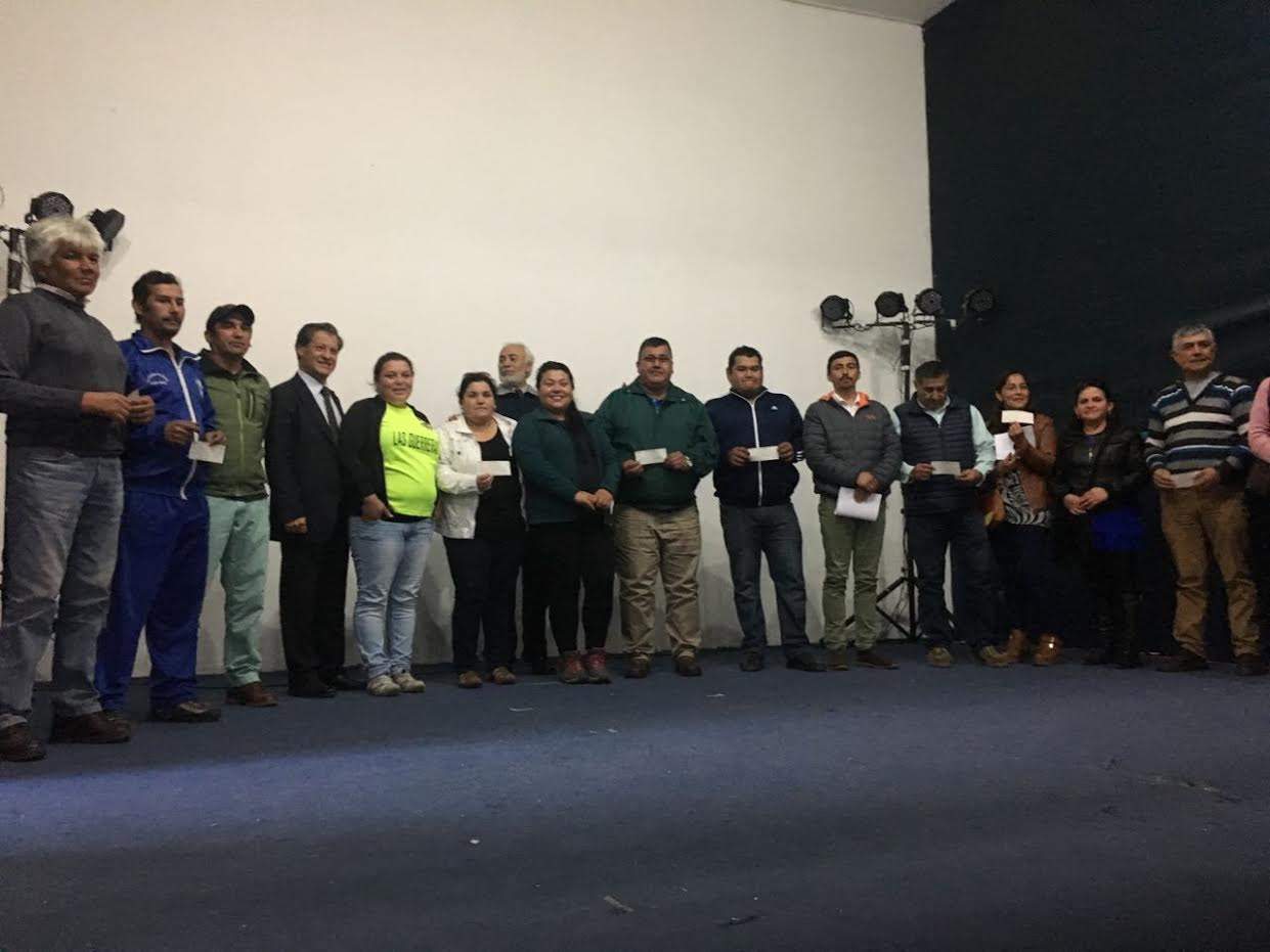 Municipalidad de Maule entregó recursos de FONDEVE