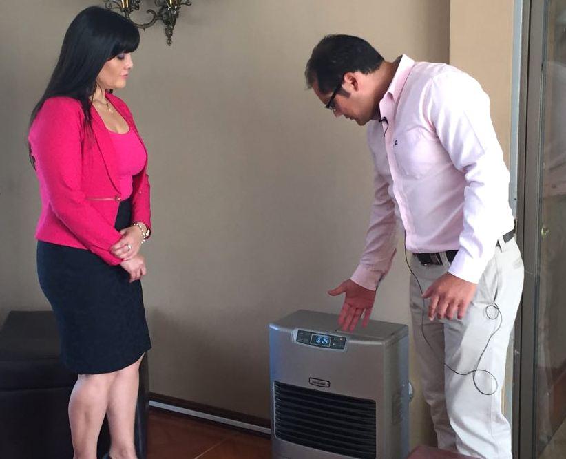 Anuncian presentación de proyecto de recambio de calefactores para Talca y Maule