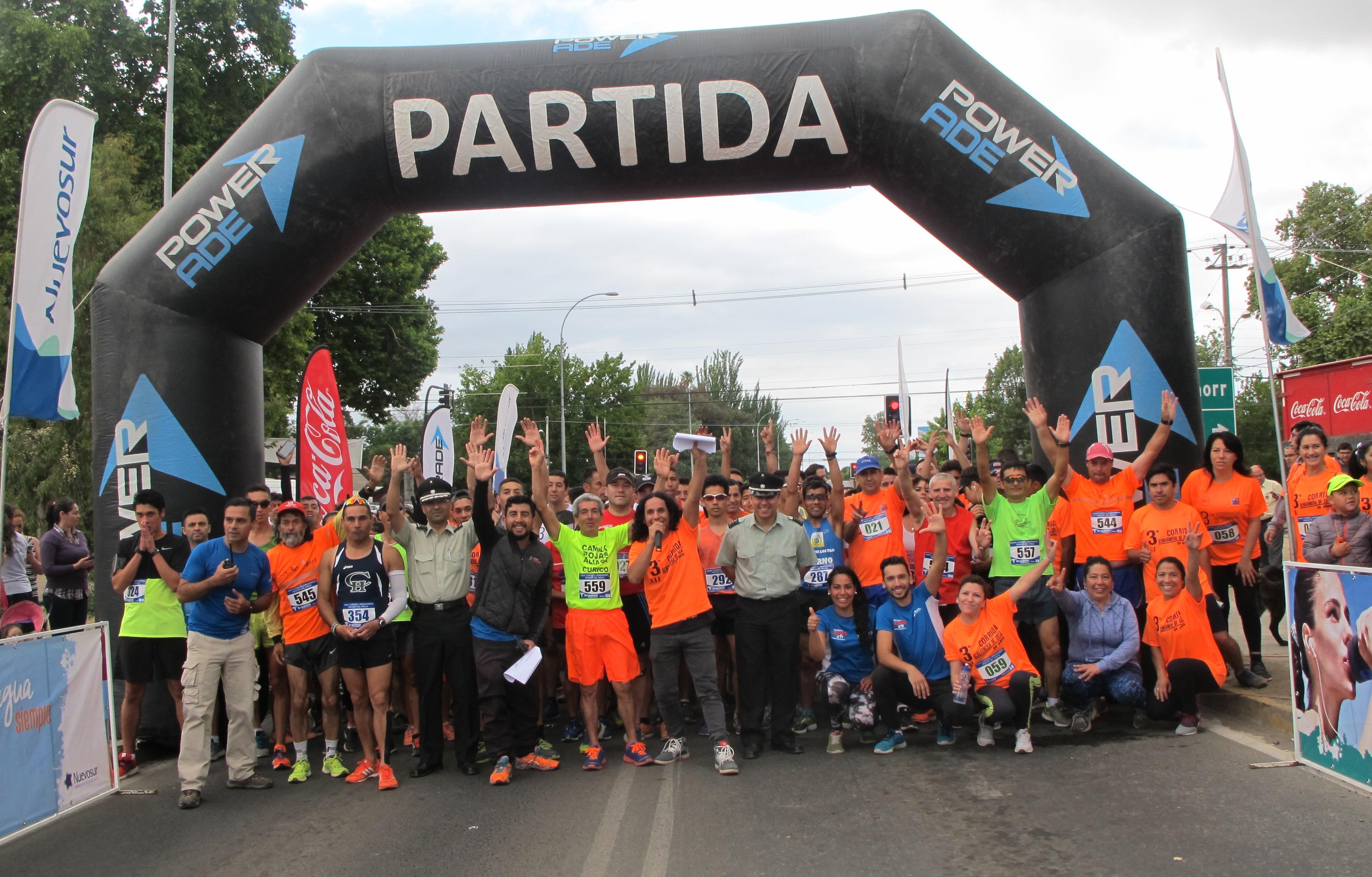 Tercera corrida aniversario de Gendarmería superó todas las expectativas