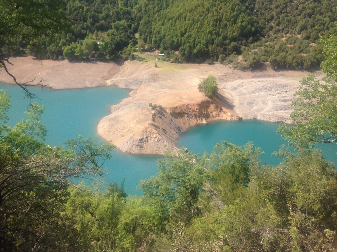 Escasez hidrica: Embalse Bullileo comienza el añocon la mitad de su capacidad