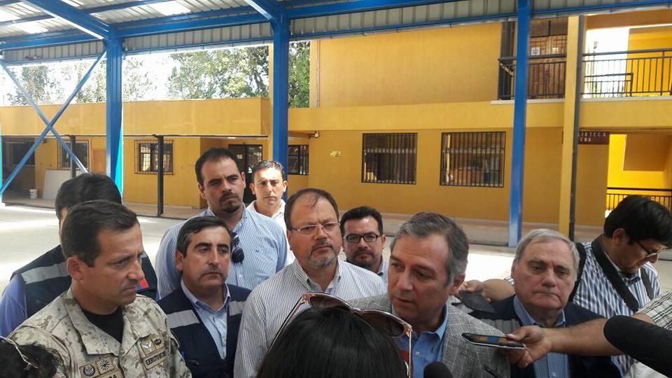 Seremi de Educación verifica en terreno situación de Escuelas en la comuna de Parral