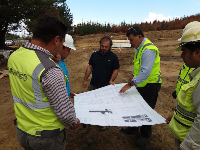 Arauco dispuso terreno para levantar jardín infantil provisorio en Santa Olga