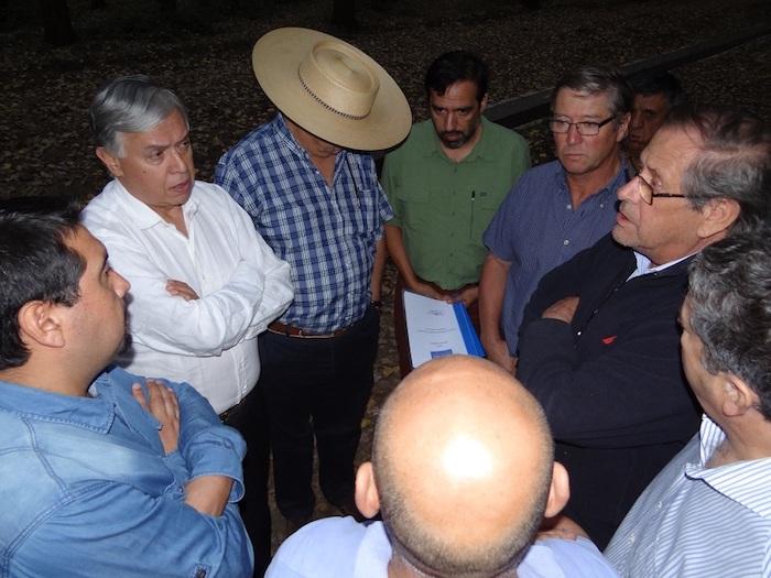 """Regantes y agricultores solicitan a Ministro de Agricultura avanzar en proyecto """"Embalse Longaví"""""""