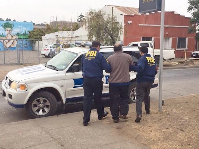 PDI Curicó detiene a sujeto por abuso sexual infantil
