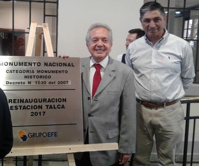 Diputado Ceroni reitera necesidad de contar con un tren regional entre Curicó y Parral
