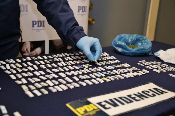 PDI Talca desarticula foco de microtráfico de cocaína base
