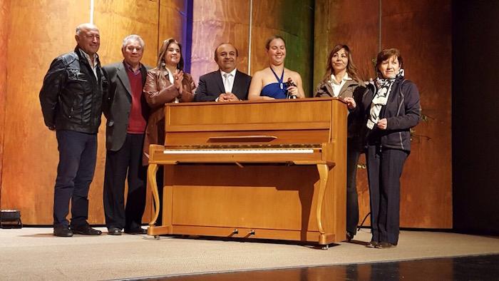 El Teatro Municipal de Parral cuenta con Piano