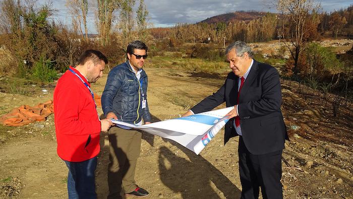 Serviu Maule compra terreno en Santa Olga para acoger a 270 familias damnificadas