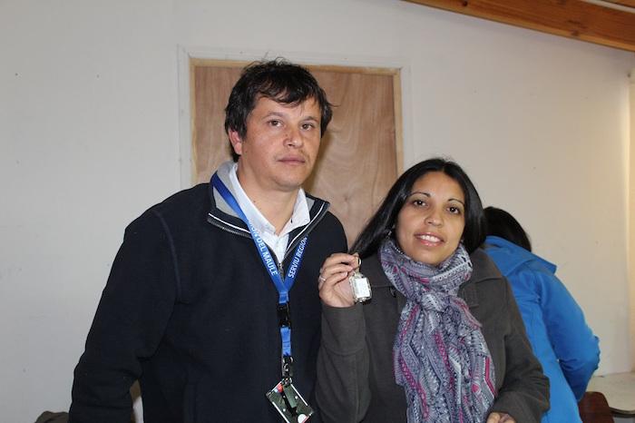 19 familias sanjavierinas recibieron del SERVIU Maule las llaves de su casa propia