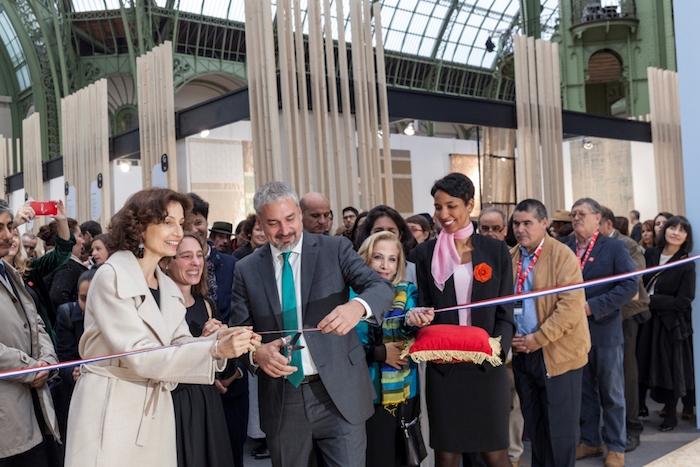 Artesana de Rari representa a Chile en la Bienal Révélations de París