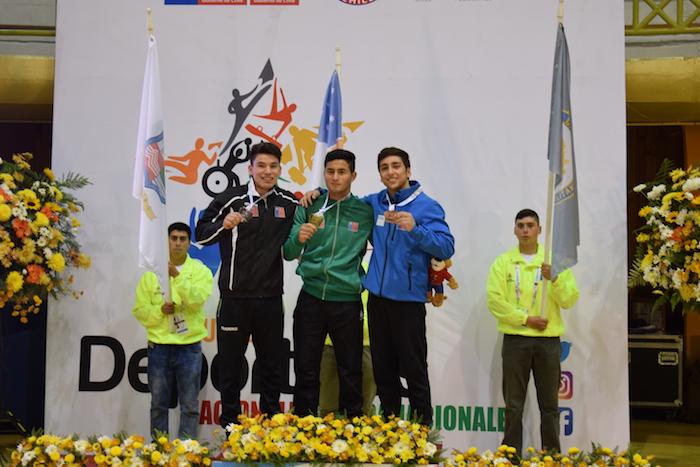 Gimnastas maulinos suben al pódium en los Juegos Nacionales