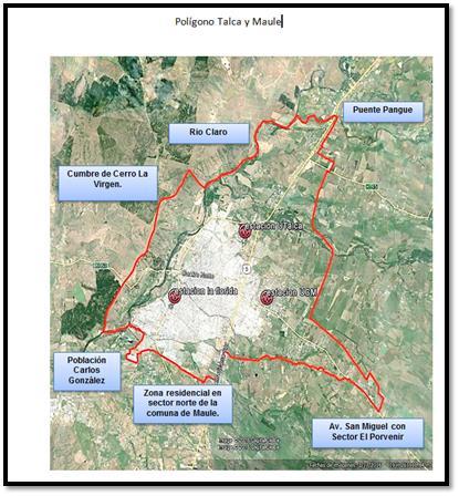 Intendencia declara alerta ambiental en Talca y Maule para hoy Miércoles 24 de Mayo