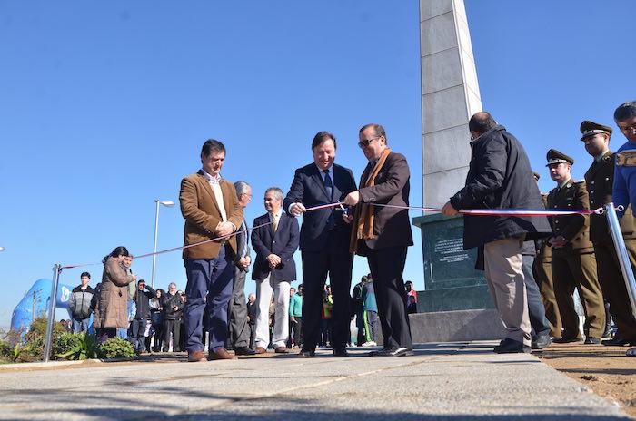 Alcalde de Talca inaugura Plaza de la Independencia