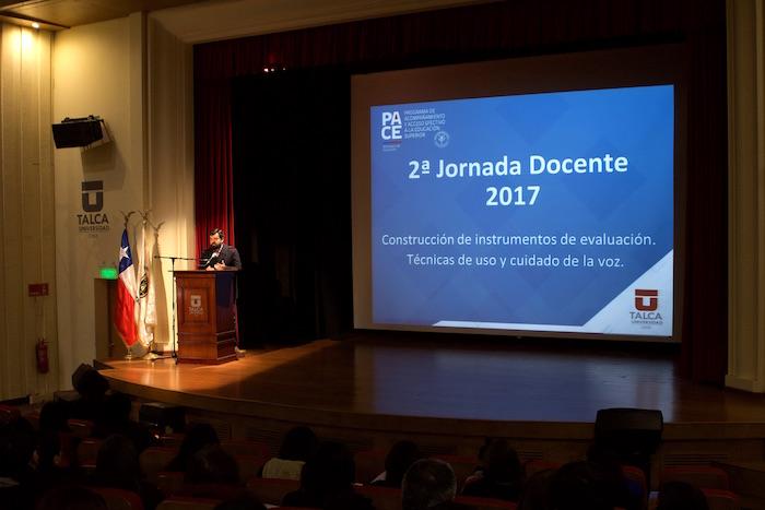 Más de 60 profesores de Enseñanza Media de la Región del Maule participaron en Jornada Docente de PACE UTALCA