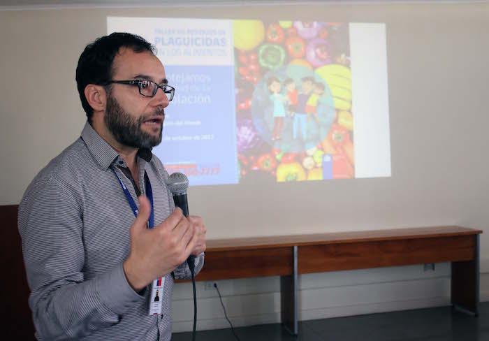 Seremi de Salud realizó taller de residuos de plaguicidas en los alimentos