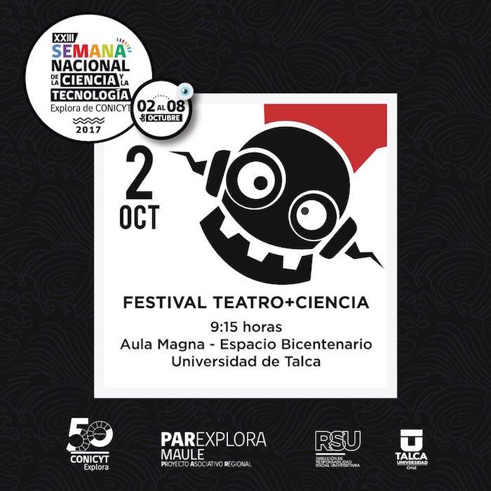 7 obras se presentarán en el IV Festival Escolar Teatro + Ciencia