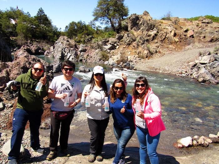 En Parque Nacional Radal Siete Tazas se celebró el Día Nacional del Medio Ambiente
