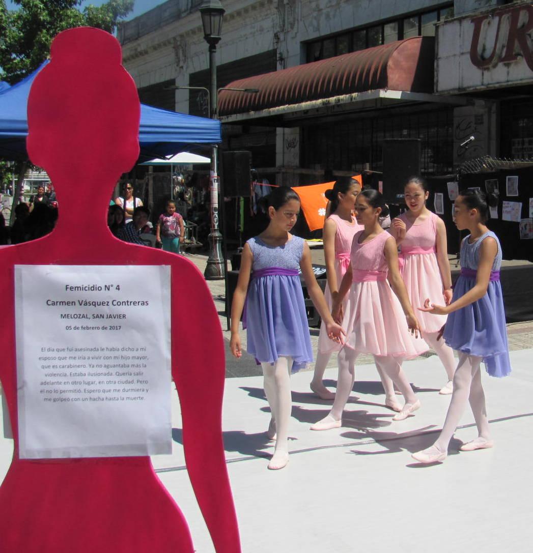 Talca conmemoró el Día Internacional de la Eliminación de la Violencia Contra las Mujeres