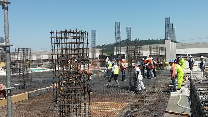 Nuevo hospital provincial de Curicó muestra significativo avance físico