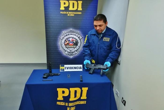 PDI San Javier incautó armamento a fogueo
