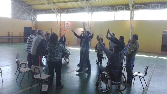 Salud Municipal de Linares prepara deportistas con capacidades diferentes