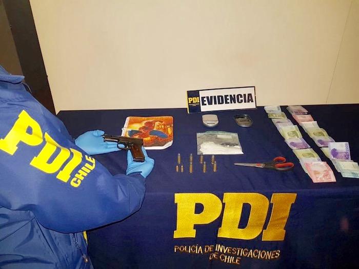 PDI Talca desarticuló tráfico en Villa Las Américas