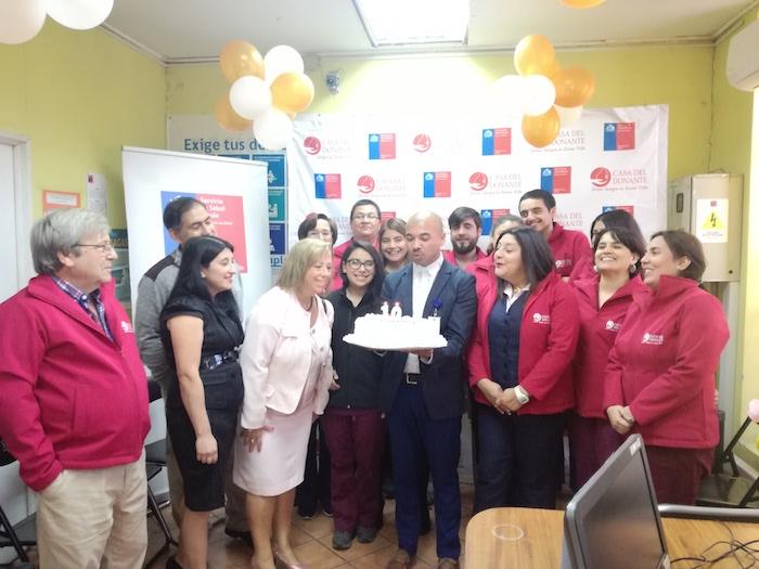 Casa del donante de Sangre conmemoró 10 años al Servicio de la Comunidad