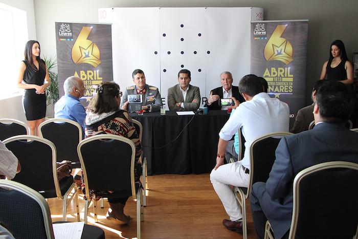 """Show de Illapu animará Fiesta del 6 de Abril """"La Patria comienza en Linares""""."""