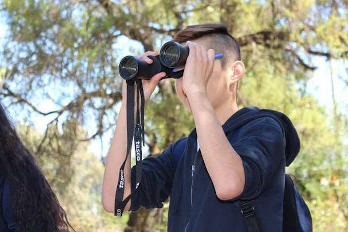 Escolares participarán en proyecto internacional de avistamiento de aves