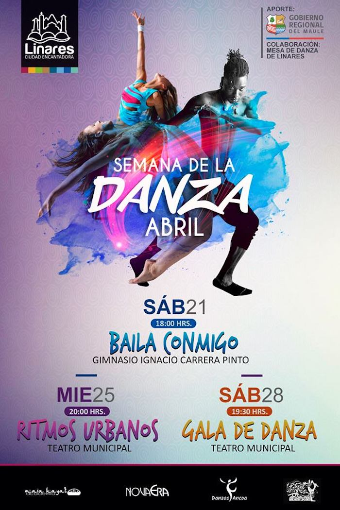 Corporación Municipal de Linares impulsa masiva celebración del Día de la Danza