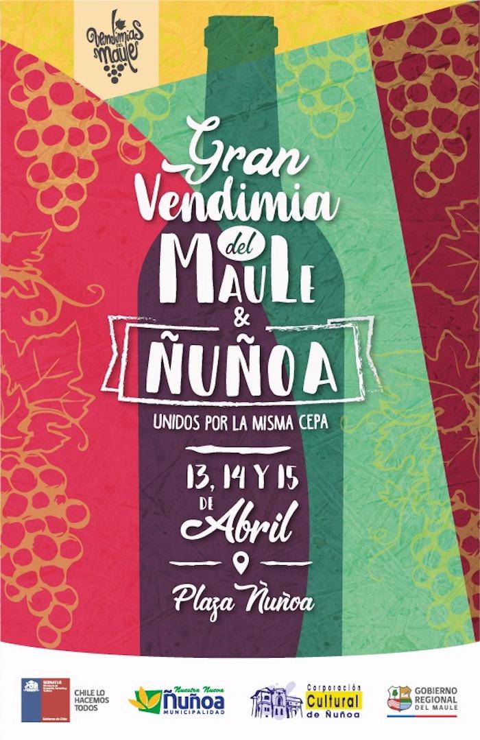 Gran Vendimia del Maule en Ñuñoa, busca potenciar la oferta turística de la región