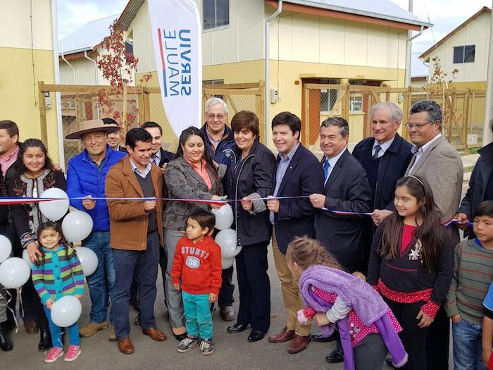 Más de 300 nuevas viviendas se inauguraron en Longaví y Parral