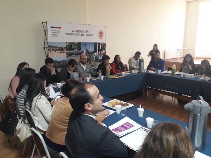 En Linares se constituye Mesa Provincial para prevenir Violencia contra la Mujer