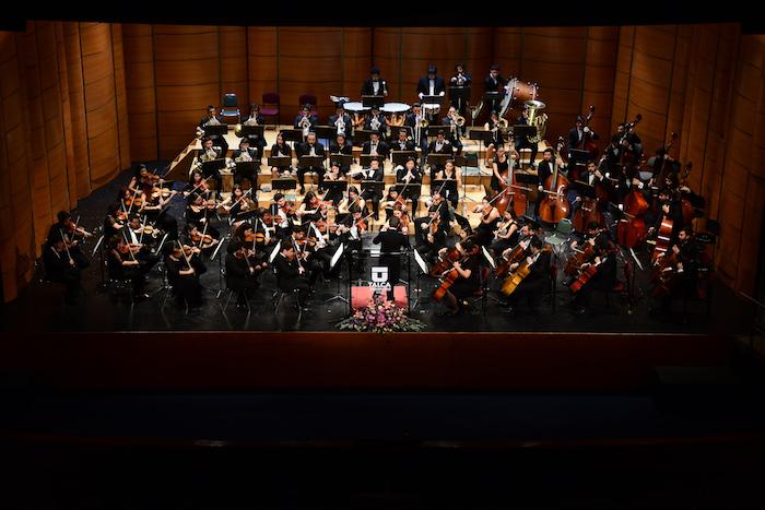 Orquesta Sinfónica Juvenil de la UTALCA homenajeó a la Villa San Agustín de Talca