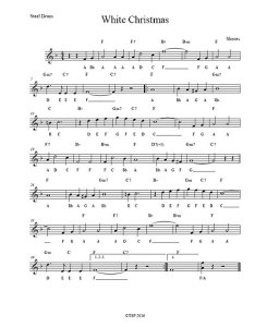 White christmas by brad shores also sheet music easy charts pabs rh maumaumusic