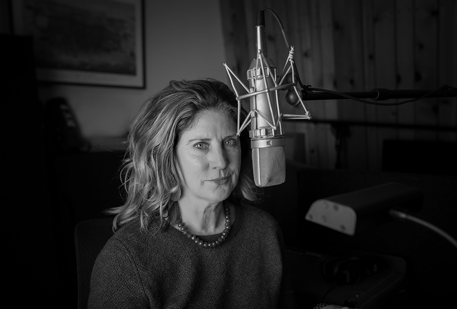 Maura Conlon-McIvor at microphone