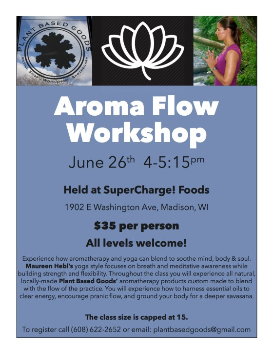 Aroma Flow Workship