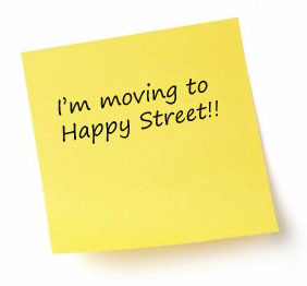 I'm moving to Happy Street
