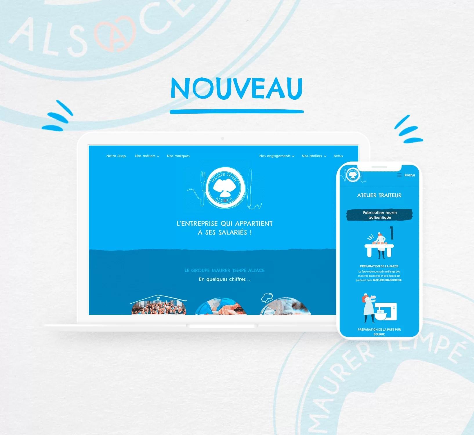 Maurer Tempé Alsace dévoile son tout nouveau site internet!