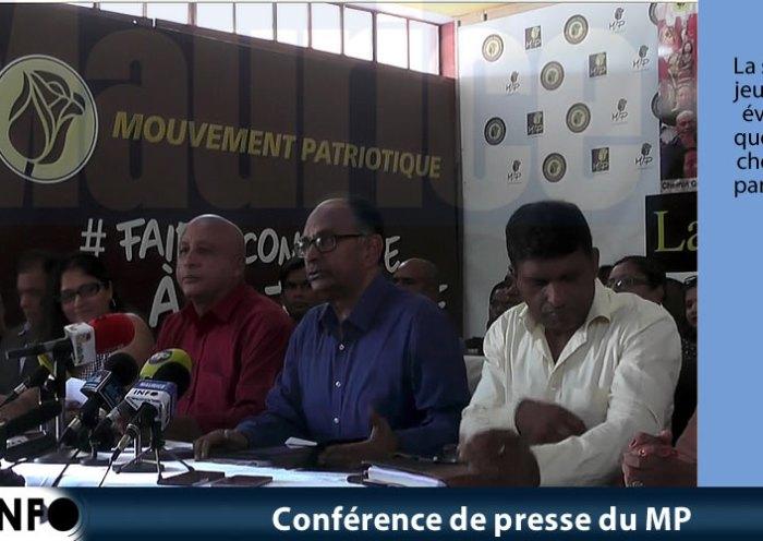 Conférence de presse du MP du 19Janvier 2019