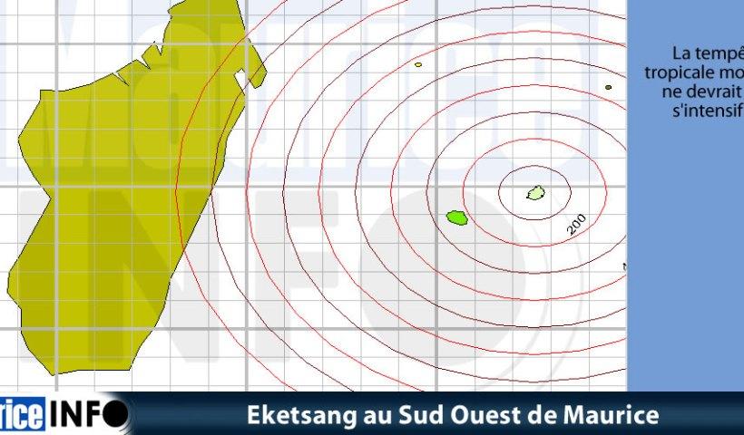 Eketsang au Sud Ouest de Maurice