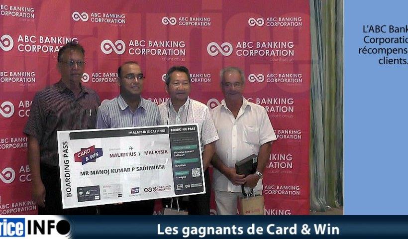 Les gagnants de Card & Win