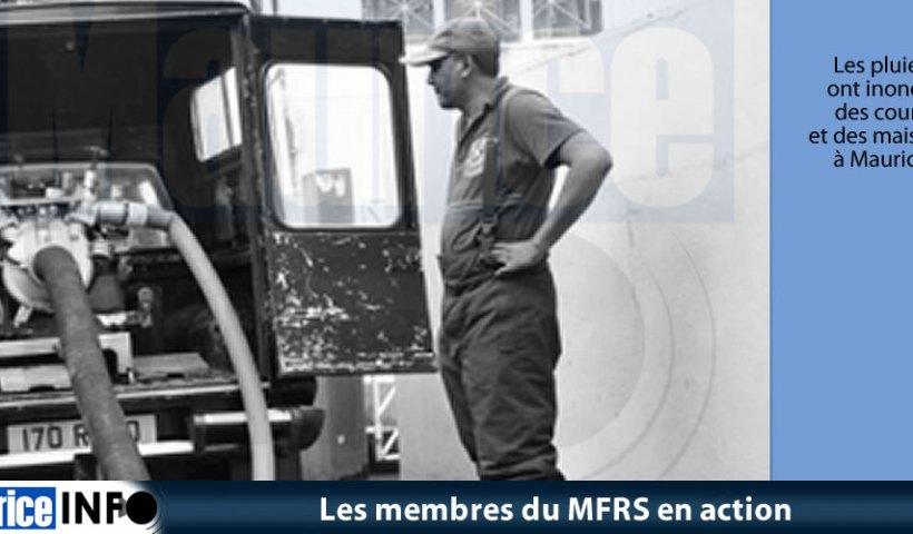 Les membres du MFRS en action
