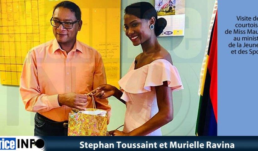 Stephan Toussaint et Murielle Ravina