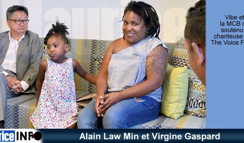 Alain Law Min et Virgine Gaspard