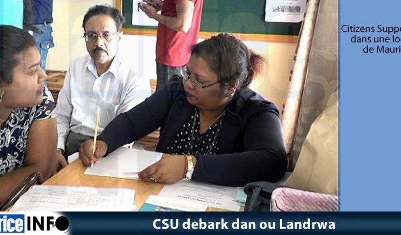 CSU debark dan ou Landrwa