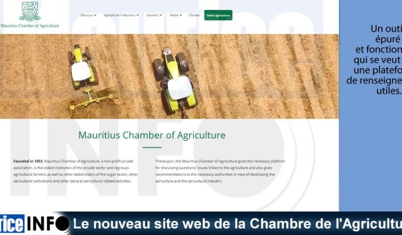 Le nouveau site web de la Chambre de d'Agriculture