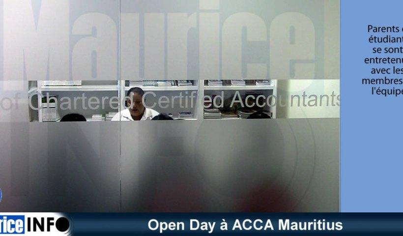 Open Day à ACCA Mauritius