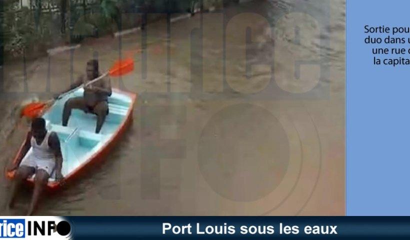 Port Louis sous les eaux