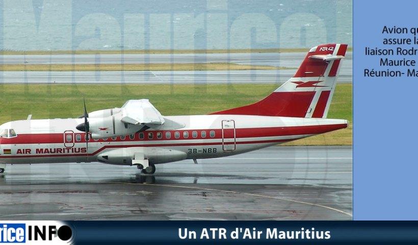 Un ATR d'Air Mauritius